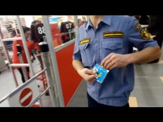 ГК Интегрированная безопасность почему у вас нет личной карточки охранника небольшой визит в Ашан, разборки с охраной ЧОП