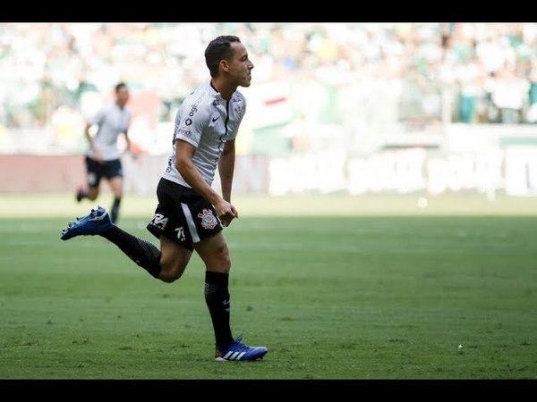 Gol de Rodriguinho Palmeiras 0 x 1 Corinthians Narração de Nilson Cesar