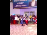 Внученька Катюша (12 лет) на первом плане....1-е место...Турнир в г.Хмельницкий