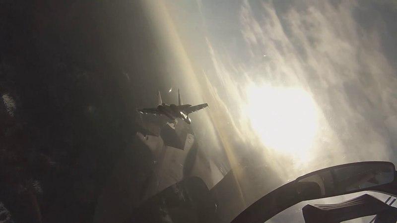 Истребители Су-35С ВВО впервые совершили перебазирование на один из островов Курильской гряды