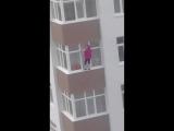 Если женщина решила помыть окна