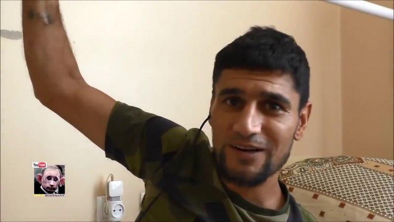 Рашист Абдула лишился ног. Съездил повоевать против Украины. Наказан на всю жизнь.