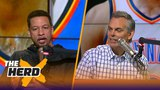 Chris Broussard talks Thunder and Celtics after Tuesday's win by Boston THE HERD