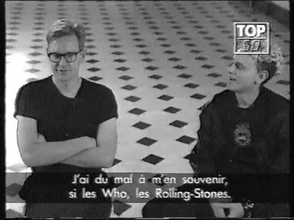 Depeche Mode - Intw with Fletch Martin on Top 50 (1990)