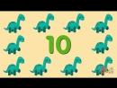 10 Little Dinosaurs - Kids Songs - Super Simple Songs