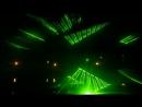 Лазерное шоу на городских прудах. Хабаровск.
