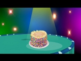 Make a Cake Children Song _ Birthday Cake Recipe _ Ordinal Numbers _ Counting songs _ Patty Shukla