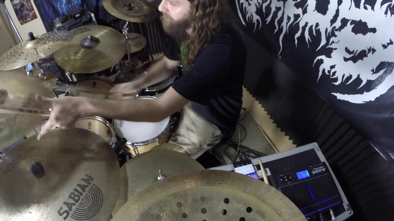 Defeated Sanity - Stoned then Defiled drum cover