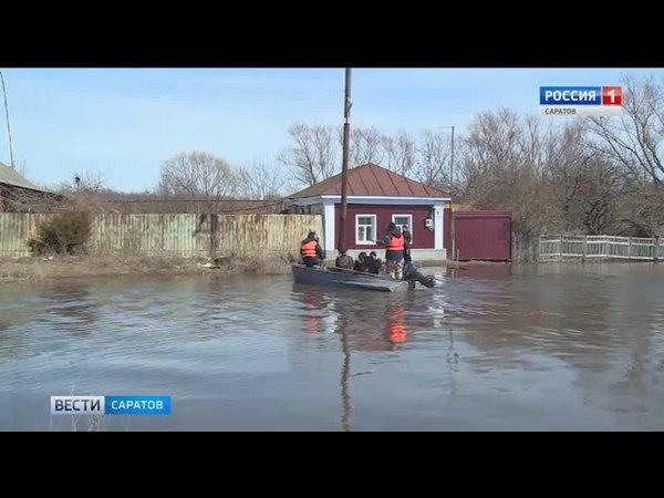 Паводковая ситуация в области ухудшилась
