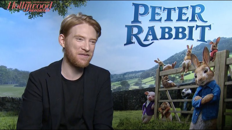 «Кролик Питер»: интервью с Доналом Глисоном и Уиллом Глаком