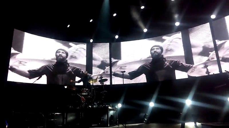 Би-2, Борис Лифшиц - соло барабаны, Минск-арена, 31.03.2018