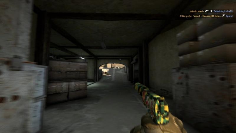GaF 1v4 de_dust2