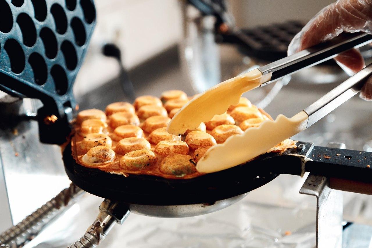 Как приготовить гонконгские вафли в домашних условиях