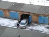 Чемпион мира по парковкам :)