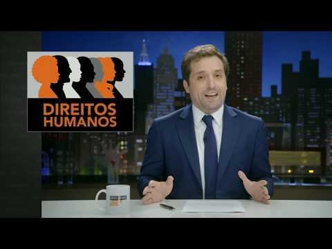 GREG NEWS com Gregório Duvivier | A VERDADE SOBRE DIREITOS HUMANOS