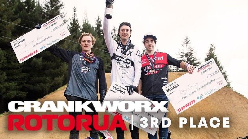 Crankworx Rotorua 2018 MTB Slopestyle 3rd place run with Diego Caverzasi.