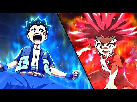 Valt vs. Aiga - Episode 1 - Beyblade Burst Super Zetsu / Chouzetsu AMV