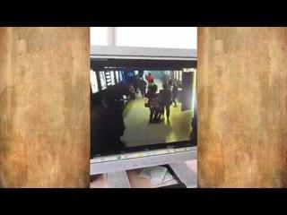 Игорь Востриков показал видео с камер из прохода в кинотеатр Зимней Вишни. Про травлю в интернете.