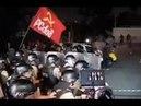 PF dispersa petistas na chegada de Lula em Curitiba