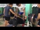 Константин Чекасин жим лёжа 280 кг
