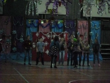 Новогоднее выступление Ильи в школе. Потап и Настя -
