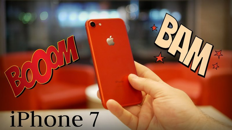 Купил iPhone 7 PRODUCT RED 256gb за 25000? Какой айфон выбрать в 2018 году? Стоит ли покупать.