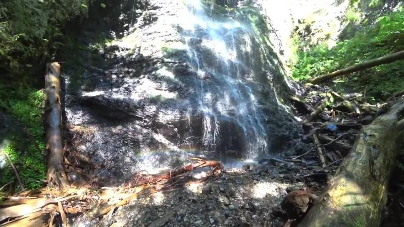 Ялинський водоспад. Найвищий однокаскадний водоспад в Українських Карпатах