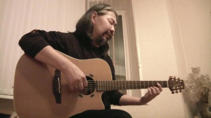 Горловое пение с гитарой Кувезина Альберта, тувинского рок-музыканта