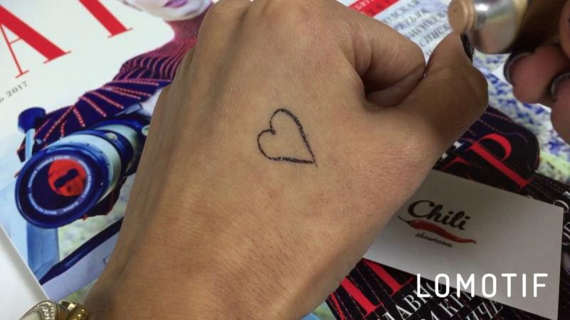 Dermacol замазывает татуировки