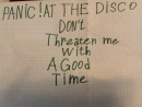 Panic! At The Disco - Dont Threaten Me With A Good Time Cover by Captain Cat