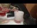 Коктейль Гараж с лёгкими нотками пара из мармеладных мишек