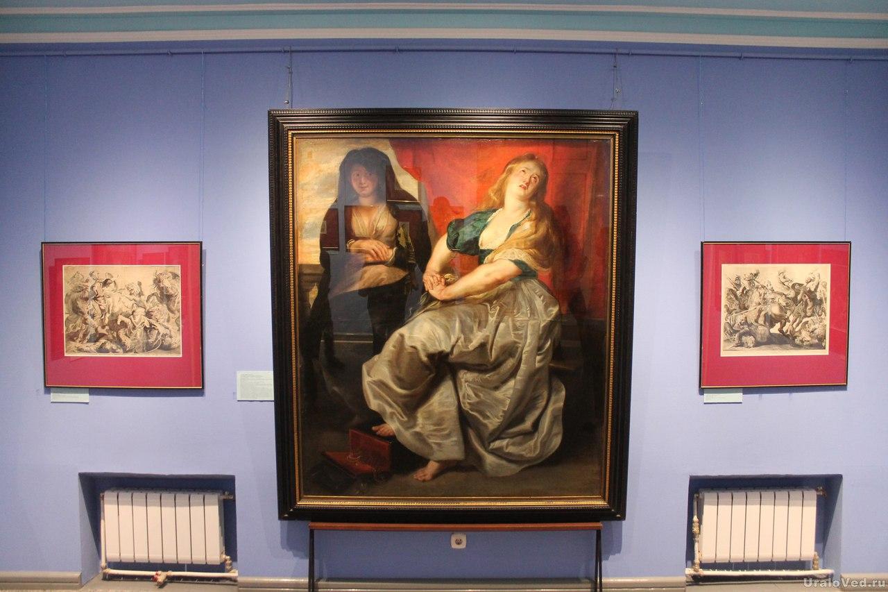 Картина Рубенса в Ирбите
