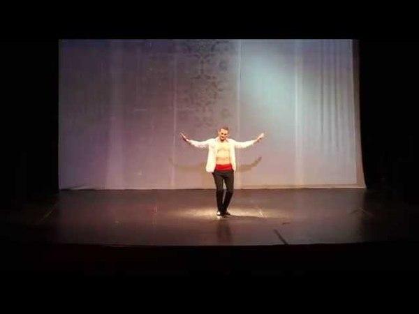Erhan AY Male Belly Dancer Turkish Gypsy Choreography LdB Festival 2014