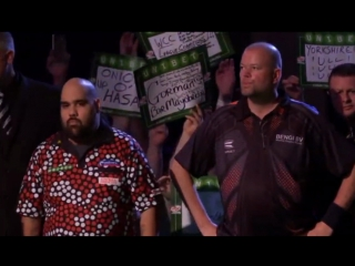 2017 World Grand Prix of Darts Round 1 van Barneveld vs K.Anderson