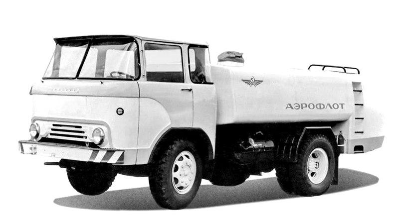 ТЗ 2 на шасси КАЗ 608 Колхида 1967 76
