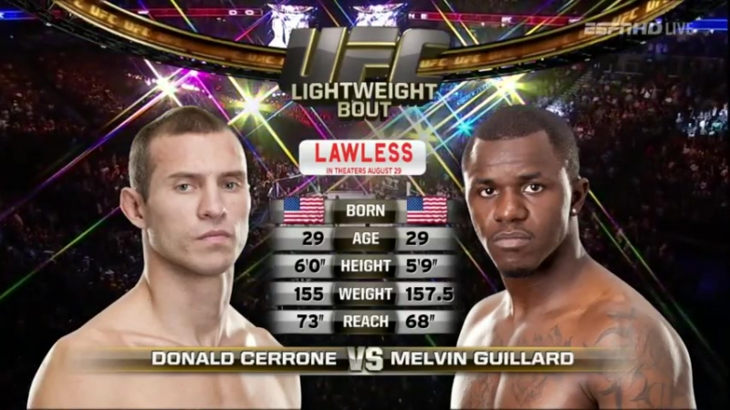 Donald Cerrone vs Melvin Guillard