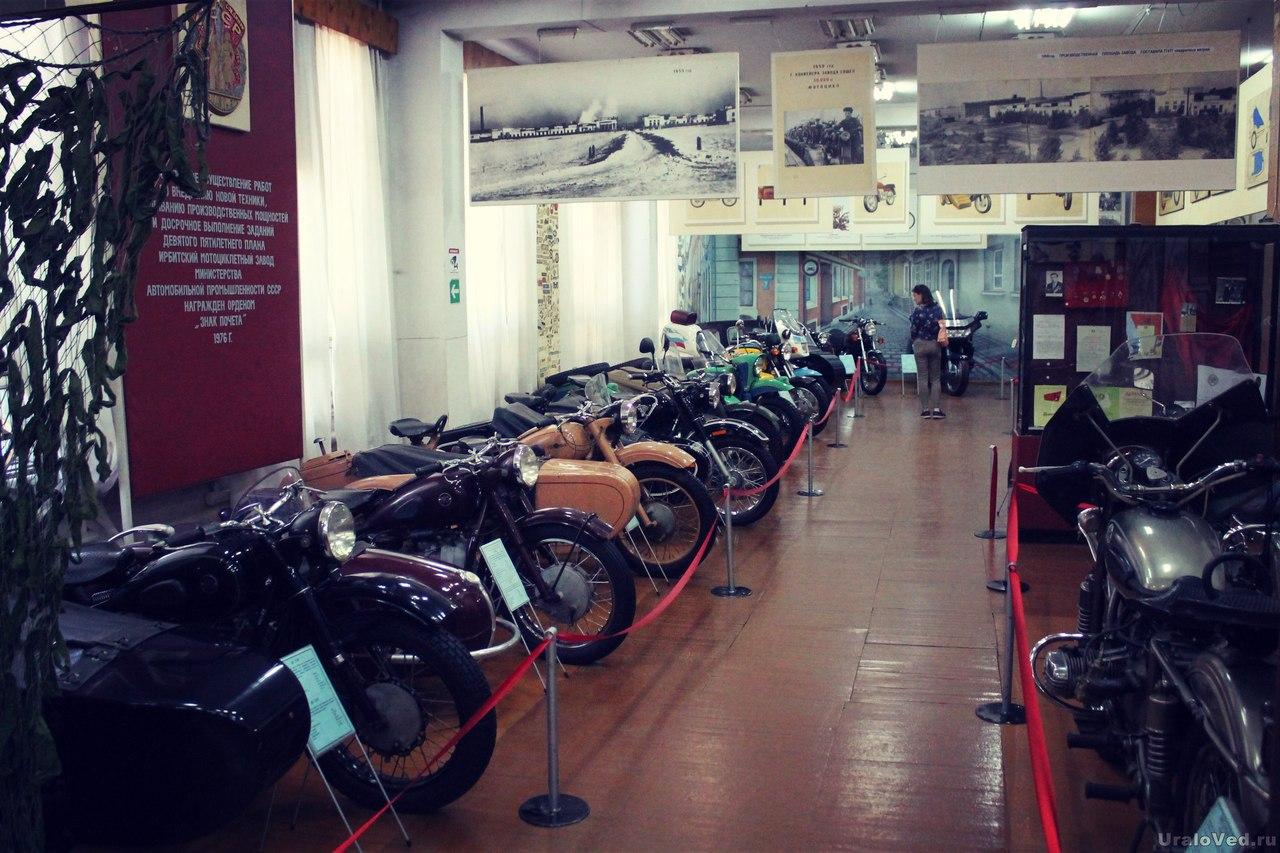 Музей мотоциклов в Ирбите