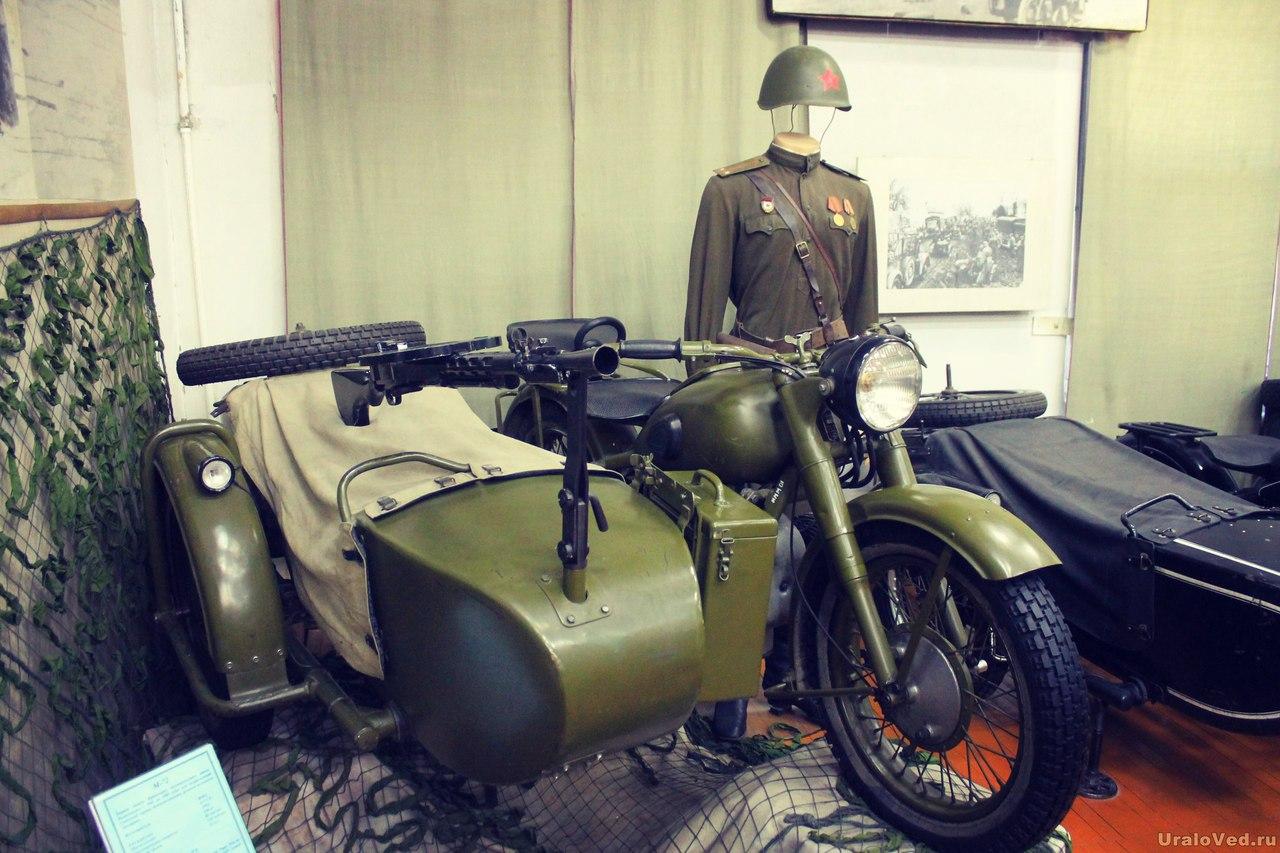 Первый мотоцикл Ирбитского завода