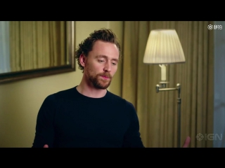 Tom Hiddleston has a few things to say about Kenneth Branagh in a video during the 2017 AMD British Academy Britannia Awards