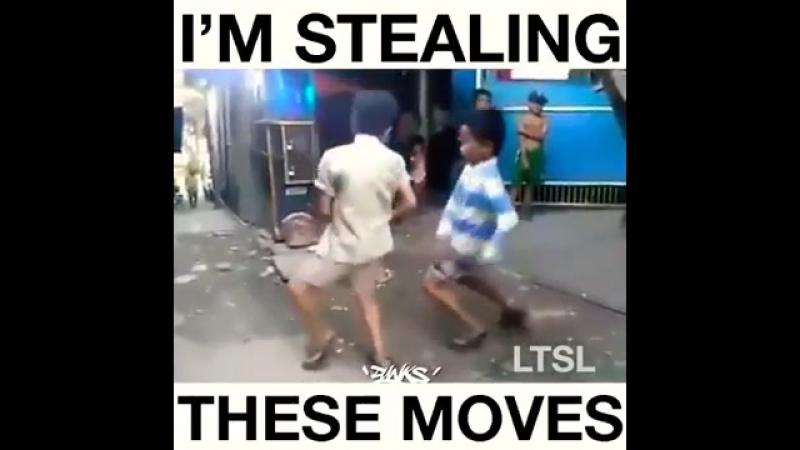 прикольно танцуют