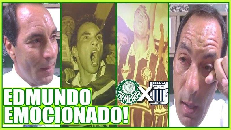 Edmundo No Allianz, Caí Nas Lágrimas ao Pegar a Camisa 7 Do Dudu - EF|03/04/18|