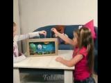 3 идеи игрушек из картонной коробки (футбол, аквариум и лабиринт)