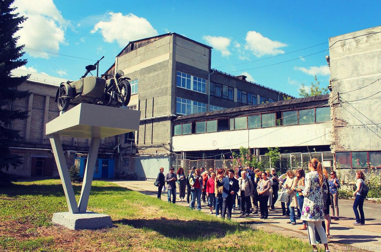 На Ирбитском мотоциклетном заводе