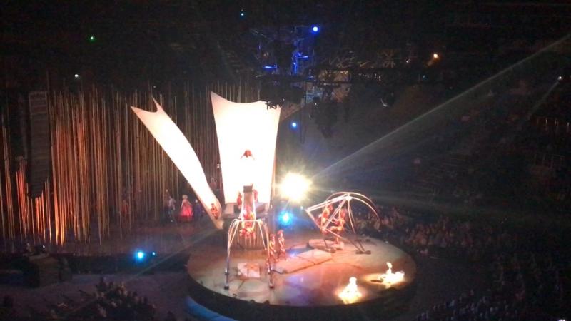 Cirque du soleil Varekai 2017 Минск