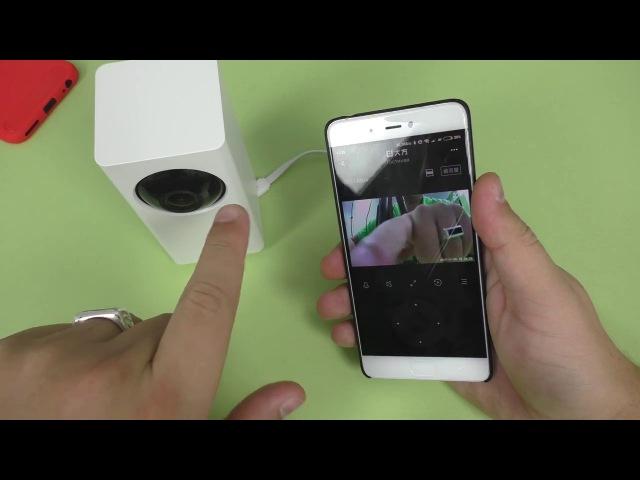 ПОДРОБНЫЙ ОБЗОР Xiaomi dafang 1080P Smart Camera ► УМНАЯ ПОВОРОТНАЯ IP КАМЕРА и НОЧНОЕ ВИДЕНИЕ