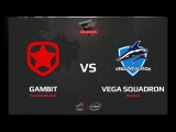 Gambit vs Vega Squadron, map 3 cache, ROG MASTERS 2017 Grand Finals