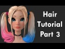 Zbrush Hair Tutorial Part 3 - Secondary Shapes