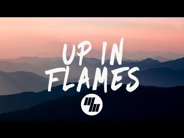 Sinners Heist - Up In Flames (Lyrics Lyric Video) BEAUZ x Medii Remix, feat. Emma Sameth