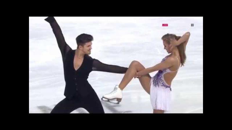 Alexandra STEPANOVA Ivan BUKIN RUS SD Internationaux de France 2017