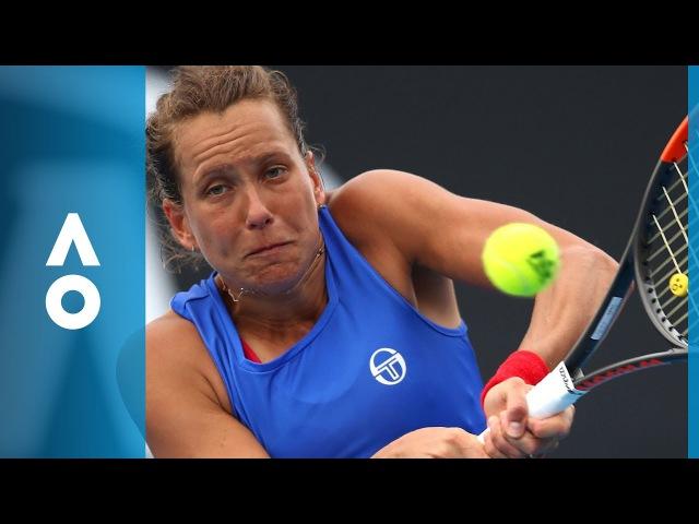 Bernarda Pera v Barbora Strycova match highlights (3R) | Australian Open 2018